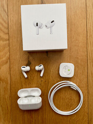 $ CDN123.90 • Buy Apple AirPods Pro Wireless In-Ear Headphones With Charging Case White MWP22ZM/A