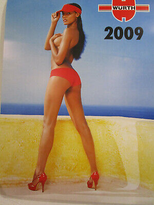 $ CDN28.49 • Buy Wurth Swimsuit Calendar, 2009. Rare, Gorgeous Girls In Poster Size Photos