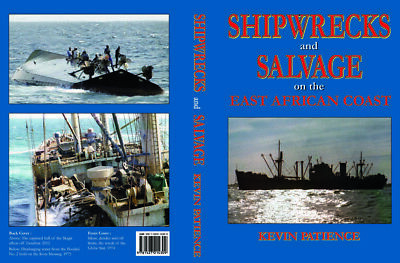 £5 • Buy SHIPWRECKS And SALVAGE On The EAST AFRICAN COAST - A Superb Reference Book