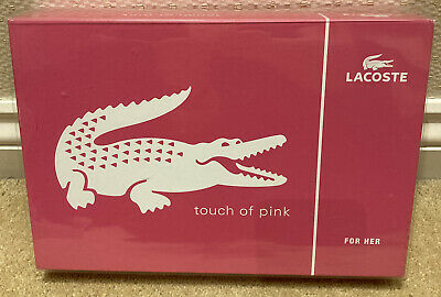 Lacoste For Her Touch Of Pink Gift Set - EDT & Body Lotion • 24.99£
