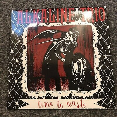 Alkaline Trio - Red Wax   - Time To Waste -lawrence Arms, Smoking Popes,blink182 • 8.99£
