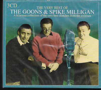 The Very Best Of The Goons & Spike Milligan Audio Cd Boxset 3cds New Sealed  • 26.79£
