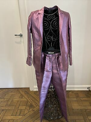 AU50 • Buy Asos Metallic Pink Womens Suit Size Uk 10