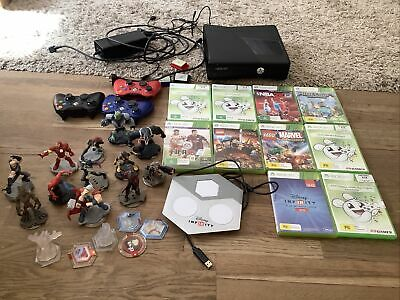 AU45 • Buy Xbox 360 Console With Games And Disney Infinity Characters