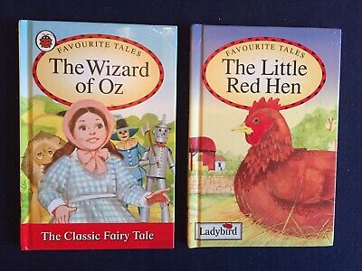 Ladybird Books : Favourite Tales - The Wizard Of Oz & The Little Red Hen • 1.80£