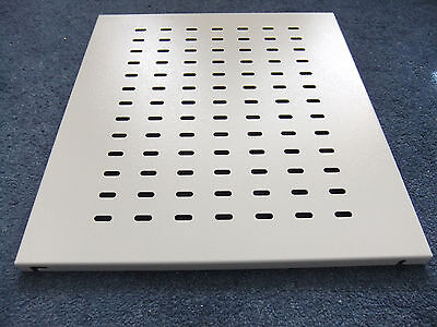 Fixed Vented Rack Mounted Shelf 19  X 440mm NO.S,... • 12£