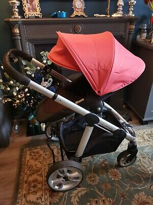 ICANDY Apple To Pear Pushchair, Lipstick? Pink Single Double Coral  • 49.99£