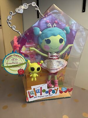 """Lalaloopsy Haley Galaxy Full Size 12"""" Doll With Pet Alien Retired Rare Boxed New • 30£"""
