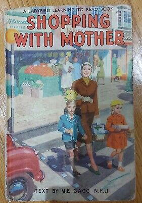 Lady Bird Book Shopping With Mother First Edition 1958 • 5£