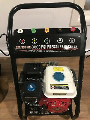 NEW 3000 Psi Petrol Power Washer Complete With 7m Hose , Lance And Trigger • 249£