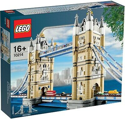 🔹NEW🔹 Lego Creator Expert 10214 Tower Bridge Building Set 🔹SEALED🔹 • 425£