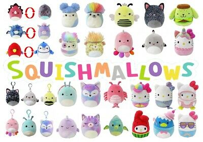 $ CDN19.44 • Buy CLEARANCE! Squishmallows Genuine Kellytoy Soft Plush COMBINED SHIPPING
