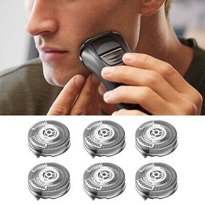 AU16.12 • Buy 6 Pack SH50 Replacement Heads For Philips Norelco Series 5000 Shavers S5000 S542