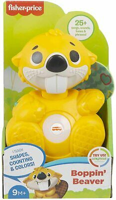 £16.99 • Buy Fisher Price Linkimals Boppin' Beaver Musical Toy