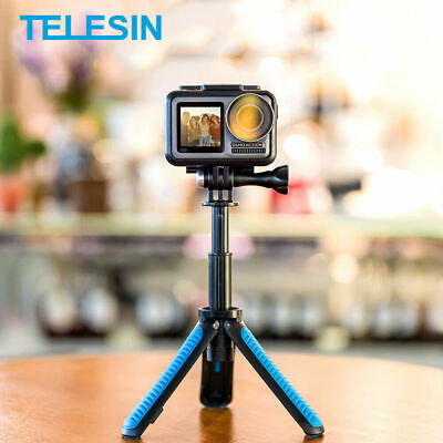 AU24.44 • Buy TELESIN Hand Grip&Tripod 2 In 1 Extendable Selfie Stick Fits Gopro DJI Action AY
