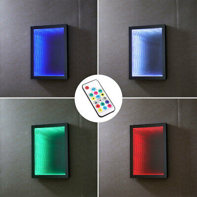 £145.95 • Buy Rectangular Shaped Infinity Mirror Light Tunnel Lighting For Wall Relaxing Calm