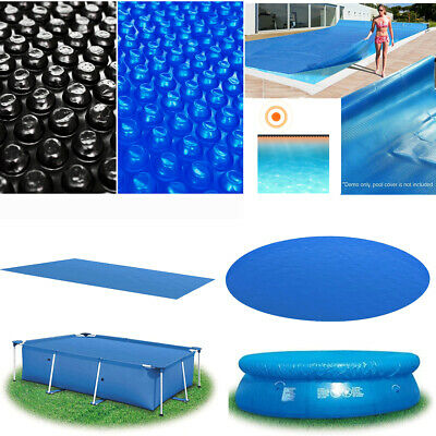 £176.41 • Buy PE Solar Pool Cover Swimming Pool Water Heating Bubble Covers Rectangular/Round
