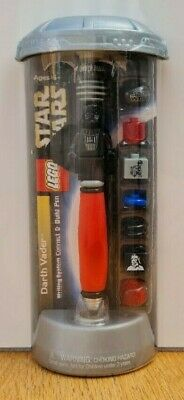 £18 • Buy Lego Star Wars Darth Vader Writing System Connect & Build Pen New & Sealed