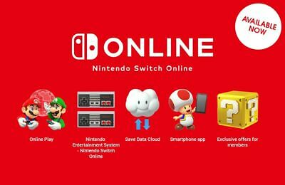 £6.89 • Buy Nintendo Switch Online Family Membership (One Spot)  • 12 Months / 1 Year