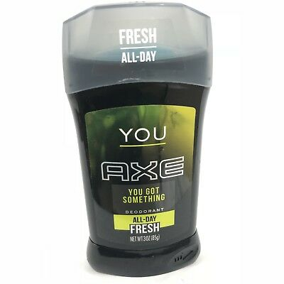 Axe Deodorant Stick For Men You Htf Scent 3 Ounce Brand New Solid  • 5.71£