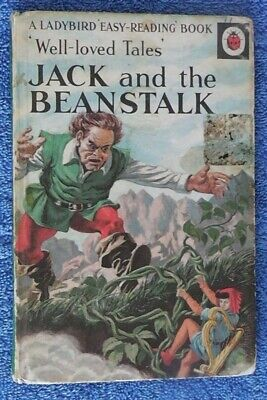 Ladybird Book,Jack And The Beanstalk,2'6d,Well Loved Tales,606D • 4.99£