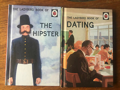 2 X Ladybird Books For Grown Ups - Dating And The Hipster  • 4.50£