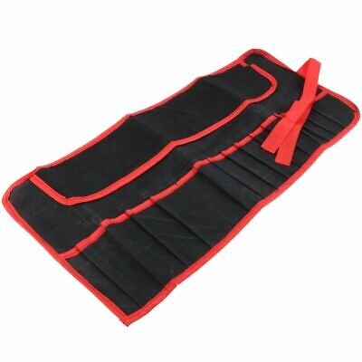 £3.99 • Buy 16 Pocket Tool Roll Pouch Canvas Spanner Wrench Storage Case Fold Up Bag Nillkan