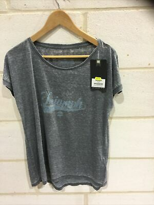 Triumph Motorcycle Ladies 'alexis' T Shirt NEW Size L • 19.99£