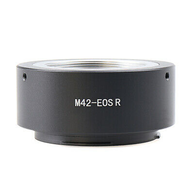 $15.85 • Buy 【US】Adapter Ring For M42 Screw Mount Lens To Canon EOS R RP R5 R6 RF Camera Body