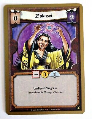 Zokusei L5R Legend Of The Five Rings CCG Gold Edition Promo • 17.69£