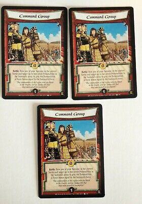 Command Group (3) L5R Legend Of The Five Rings CCG A Perfect Cut • 1.42£