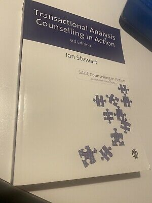 Transactional Analysis In Action 3rd Ed Ian Stewart Counselling • 17£