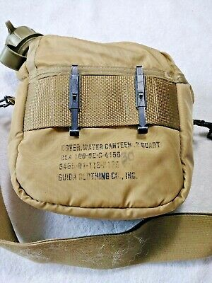 $ CDN12.52 • Buy Vintage 1990 CANTEEN 2 QUART & OD COVER CARRIER & STRAP US Military Issue A