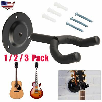 $ CDN22.35 • Buy Lot Guitar Hanger Stand Holder Hooks Display Wall Mount Heavy Duty Adjustable