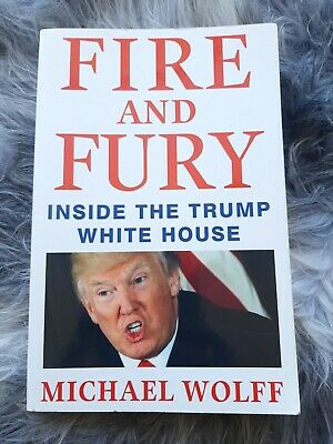 AU4 • Buy FIRE AND FURY Michael Wolff  (2018) - Inside The Donald Trump White House - Book
