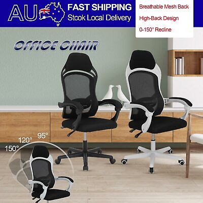 AU40.99 • Buy The New Gaming Office Chair Computer Desk Chairs Study Work Home Mesh Recliner