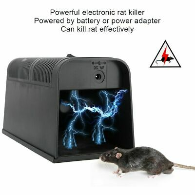 £15.92 • Buy Electronic Rat Killer High Voltage Electric Shock Mice Mouse Rodent Killer Trap