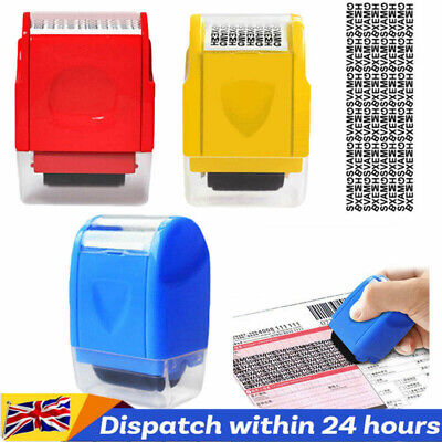 1/2PC ID Theft Protection Stamp Roller Guard Your Data Identity Security Privacy • 5.69£
