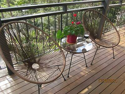 AU300 • Buy Outdoor Patio Setting 3 Piece Balcony Table And Chair