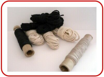 £4.50 • Buy Model Boat Rigging Cord  Natural Or Black Various Thickness / Lengths Available