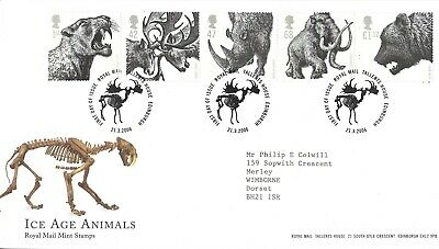 21/3/2006 Ice Age Animals First Day Cover (tallents House Postmark)  • 0.50£