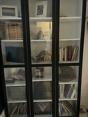 Billy Bookcases & Glass Doors • 80£