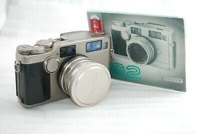 $ CDN1892.22 • Buy  Excellent Contax G2 35mm Rangefinder Camera With Biogon 28mm F2.8 Lens  #4149