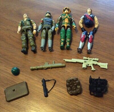 $ CDN13.25 • Buy Vintage GI Joe ARAH Weapons Vehicles And Figure Parts Lot