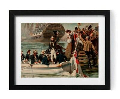 £7.75 • Buy Admiral Horatio Lord Nelson Portrait Painting A4 Picture Print Poster Trafalgar