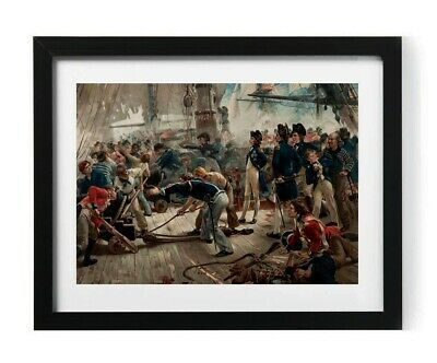 £7.75 • Buy Admiral Horatio Lord Nelson Painting A4 Picture Print Poster Trafalgar