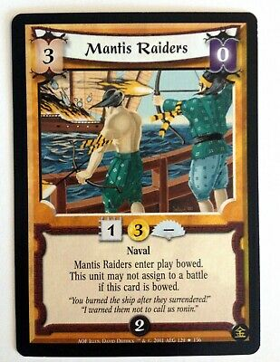 Mantis Raiders L5R Legend Of The Five Rings CCG An Oni's Fury • 2.48£