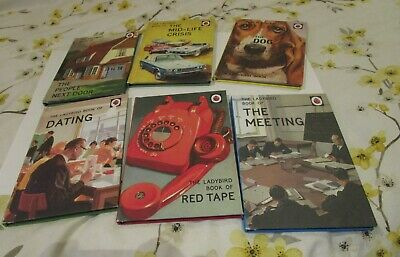 Ladybird Books For Grown Ups Bundle Assorted,  Red Tape, Mid-life Crisis • 9.99£