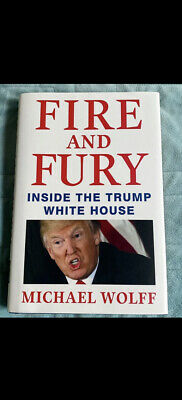 AU1.27 • Buy Fire And Fury : Inside The Trump White House By Michael Wolff (2018, Hardcover)