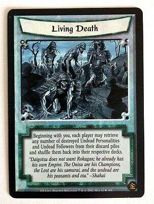 Living Death L5R Legend Of The Five Rings CCG Dark Allies • 1.77£